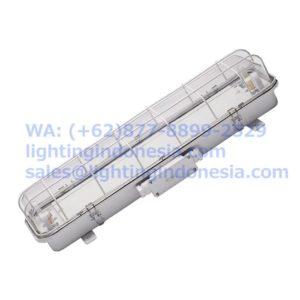 ZYC43-2EF Kap Lampu Kapal 2x40W 110V IMPA 791864